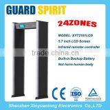 China Well-known Trademark | GUARD SPIRIT Walk Through Metal Detector