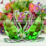Crystal Swan As Wedding Crystal Gifts Souvenirs Favors