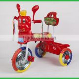 This is a child ride on tricycle;pinghu bear baby tricycle,baby plastic ride on toys car