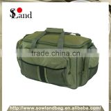 Large Olive Green Insulated Fishing Tackle Holdall Bag