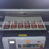 new inkjet printing machine in China digital A2 sized small uv flatbed printer for ceramic tiles