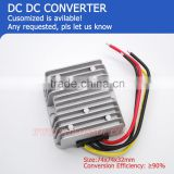 120Wmax 36v dc to 12 volt dc dc converter 10Amax small size low heat