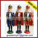 Military soldier figure for home decoration wholesale toy soldier nutcracker outdoor&indoor nutcracker