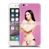 Sexy girl pictures 2D 3D Blank Sublimation PC Phone Case for iPhone 6 plus for iphone 5 5s