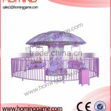 Popular in Europe Flying chairs 12P Carousel kiddie rides (hominggame-COM-339) for amusement park