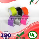 Colored cheap book binding printed duct tape with low price