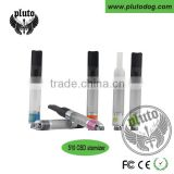 Most popular ceramic 510 oil clearomizer tank atomizer no wick wickless cbd cartridge with high quality