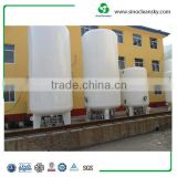 15 M3 Thermal-Insulating Cryogenic Storage Tank for LNG , Liquid Nitrogen Gas Tank