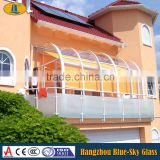 6mm sun porch glass for wholesale made by Blue-Sky Safety Glass