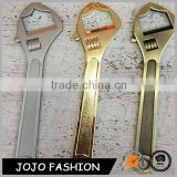Wholesale custom bulk flat wrench shape stainless steel Metal Bottle Opener                                                                         Quality Choice