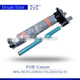 copier part drum unit NPG-50 51 GPR-34 35/CEXV32/33 ir2520 ir2525 ir2530 ir2545 photocopy machine