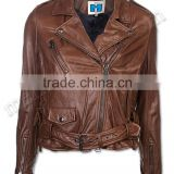 Women Brown Fashion Leather Jackets