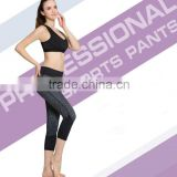 Best selling new high quality custom made camouflage yoga pants custom mens compression pants