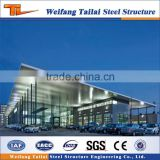Modern design prefabricated steel structure function hall
