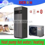 3-10KW Household split freestanding wall mounted air to water heat pump for bathroom, heated floor with CE, CB