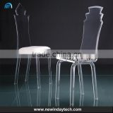 2016 Customized Modern Transparent/clear Acrylic chairs in dining/living room for home/hotel/restaurant From China