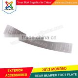 STAINLESS STEEL REAR BUMPER STEP PLATE FOOT PLATE Decoration For Mondeo 2013 2014 2015