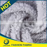 Shaoxing textile manufacturer for blanket Knit polypropylene fleece fabric