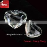 2014 New Arrival Natural Clear Quartz Crystal Heart / Pure Ctirine Necklace Pendant Wholesale