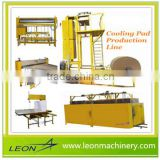 LEON air cooler used evaportive paper cooling pad making machine