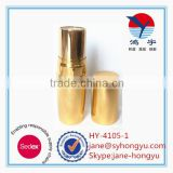 HY-4105-1 2015 Empty make your own lipstick, shiny gold bling lipstick tube, lipstick case manufacturer