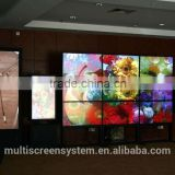 47 Inch LCD video wall Samsung/LG brand super narrow bezel monitor display for live broadcast