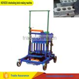 NEWEEK multi-functional electric soiled cement interlocking brick making machine with good price
