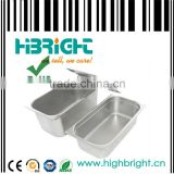 stainless steel buffet salad tray