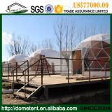 Transparent 6 Person Geodesic Dome House Luxury Glamping Tent