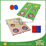 3 Hole CornHole Mini Bean Bag Toss Game