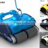 New automatic pool cleaner robot for commercial application
