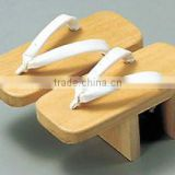 Japanese Wooden Geta Clogs for Kitchen Paulownia Wood