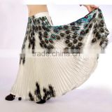 professional hot sexy bellydance skirt pleated adult dance gypsy skirts