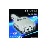 Car Inverter 75W with USB output