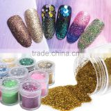 Nail art products sequins laser flash powder DIY gradient nail art polish nail jewelry Jincong powder 16g bottle