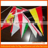 custom football team national flags bunting