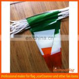 plastic Italy triangle string flags