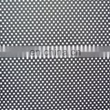 HI-vis reflective punched hole reflective polyester fabric