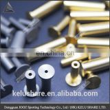 1g~12g custom material golf shaft accessory tip weight for golf tungsten brass golf component