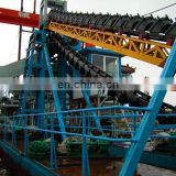 mechanical sand bucket dredger for sale