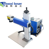 Shanghai Jiaoxi 20w Raycus / IPG / MOPA Split Type Fiber Laser Marking Machine for Metal Plastic