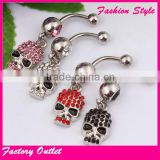 Fashion Body Piercing Stainless Steel beauty Navel Ring