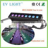 2014 EV Light EV W108 8*10W RGBW 4in1 LED Outdoor Wall Washer Stage Foot Light/LED Outdoor Flood Light