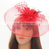 fashion ladies sinamay fascinator church hats