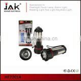JAK portable 5 LED waterproof powerful torch