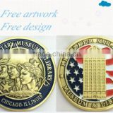 Pritzker Military Museum & Library USA Challenge Coin