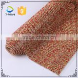 Hot fix Crystal bling bling fiberglass jute rhinestone mesh roll                                                                         Quality Choice