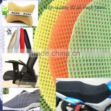 hot sale breathable 3d air mesh fabric for chair cushion medical mat                                                                                                         Supplier's Choice