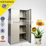 Low price Two Doors Large Metal Storage Cabinets with Pull-Out Shelf