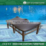 Rattan Luggage Rack Used Outdoor Hotel Furniture